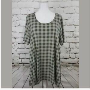 LuLaRoe Sz 3X Checkered Perfect ~ NWT HTF